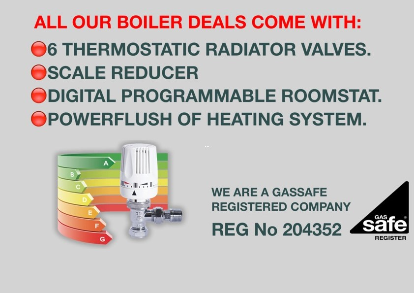 Boiler special offers in Brighton & Hove